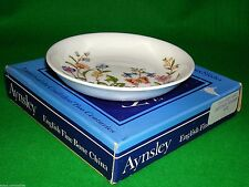 """AYNSLEY Cottage Garden Flower Pin Dish Pretty Dressing Table Item 4"""" Box + Paper"""