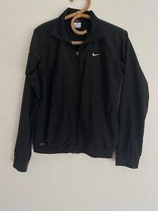 Ladies Nike Dri Fit Black Jacket Size XS