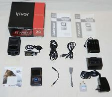 iRiver H320 MP3 Player, Voice Recorder, Line In Recording, Upgraded To 128GB