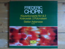 Stefan Askenase-Chopin-Klavierkonzerte Nr.1 & 2-DGG 2er Lp Box