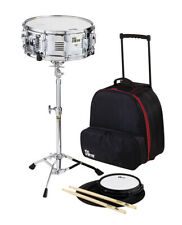 Vic Firth Travel Snare Drum Kit with Rolling Bag, Drum Sticks & Drum Pad - V6806