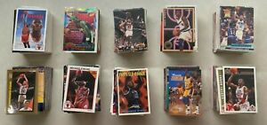 1,000 Basketball Cards - Michael Jordan, Magic, Bird, Shaq, Rookies, Parallels!!