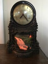 Vintage MasterCrafters Waterfall Clock Working Condition