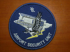 China Hong Kong Police Airport Security Unit Patch