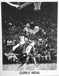 Curly Neal (1942 - 2020) - Harlem Globetrotters Legend - Autographed Photo