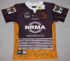 2012 Brisbane Broncos Hand Signed  Heritage Jersey * BUY GENUINE *