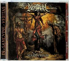 Bloodtruth – Martyrium CD (2018 Italian Death Metal NM)