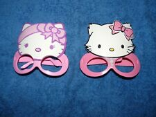 Lot de 2 masques lunettes Hello Kitty jouet happy meal mac donald macdo TBE