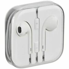 Apple iPhone/iPad/iPod Earphones Wired 3.5mm Jack Plug White Headset in Case wit