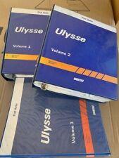 FIAT OEM SET OF WORKSHOP MANUALS ULYSSE Technical & Service Bulletins 506407