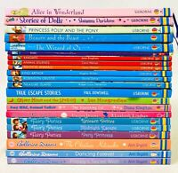 Lot 22 USBORNE Children's Books Young Reading OZ Alice Unicorn Pony Fairy 5 HC