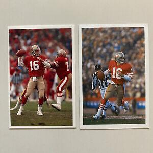 Joe Montana Sports Card Bundle - A Question Of Sport 1987 AND 1994 - NFL