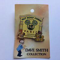 WDW - Dave Smith Collection Walt Disney Studios Paris LE 2000 Disney Pin 50706