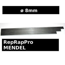 Steel Smooth Rods ø8mm 428mm 400mm 350mm -  RepRapPro Mendel 3D printer Reprap
