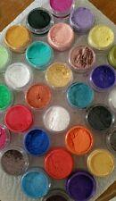 Mica Powder Pigments 18 x 5ml jar set for mineral make up eyeshadow cosmetics