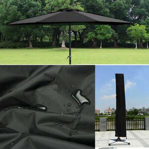 Outdoor Deluxe Patio Parasol Protective Cover Banana Cantilever Strong Oxford