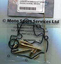 Carb Carburettor Rebuild Kit Yamaha YZF 450 2005-2009 (Keihin) Jets Needle Valve