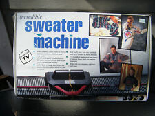 Vintage Bond Incredible Sweater Knitting Machine Original Box Instructions/Video