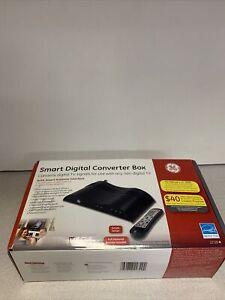 GE Smart Digital TV Television Converter Box with Remote 23333 NIB