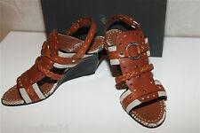 sandales compensées python GIUSEPPE ZANOTTI p 39D NOUVELLE COLLECTION val 650€