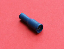 "Pack of 50 BLUE 5mm Female Bullet Connectors ""NEW"""
