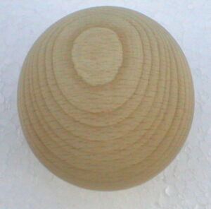 Holzkugeln Ø 45 mm Kugel ohne Bohrung Buche natur Rohholzkugeln