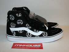 New Supreme Vans Sk8-Hi Reissue FE F*ck Em Black Vault Skateboard Shoes Size 11