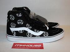 New Supreme Vans Sk8-Hi Reissue FE F*ck Em Black Vault Skateboard Shoes Size 11