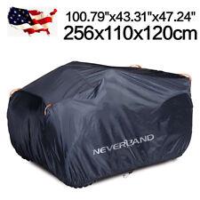 100 x 43 x 47'' ATV Cover w/ Storage Bag Heavy Duty Dust Waterproof Protector US