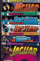 Impact Comics The Jaguar #4 #5 #6 #7 #10 1991-1992 Bundle c1.825