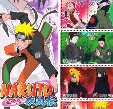 "C1982, ""Naruto"" Animation Hero and Heroine Series, No.11, Japan Stamp"