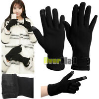 1Pair Elegant TouchScreen Gloves Soft Winter Women Texting Active For SmartPhone