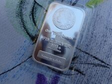 1 oz. Morgan Dollar Made in the USA art bar .999 fine silver