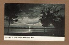 Minneapolis,MN Minnesota, Moonlight on Lake Harriet