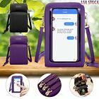 Small Crossbody Touch Screen Purse Cell Phone Bag Wallet Shoulder Handbag Women