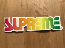 Supreme Oakley Surf Style Box Logo Sticker 2002