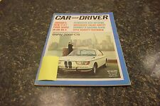 CAR AND DRIVER BMW 2000 CS APRIL 1966 VOL.11 #10 9677-1 [BOX J] DDD #33