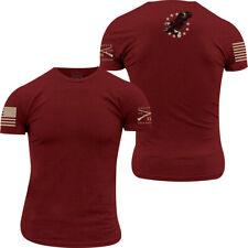 Grunt estilo Eagle Betsy Ross T-Shirt-Rojo