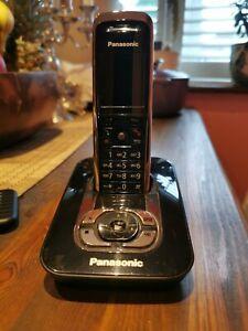Panasonic KX-TG8421E Cordless Phone with Answering Machine Black KX-TGA840E