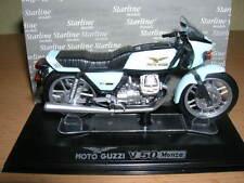 Starline Moto Guzzi V50/ V 50 Monza hellblau lightblue 1:24 Motorrad Motorbike