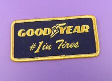 Goodyear #1 in Tires - Genuine 1970s Unused Cloth Patch