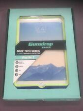 GUMDROP iPad Air 2 Case Drop Tech Hideaway (Royal Blue With Lime Green Trim)Case