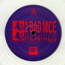 """2 BAD MICE - Remixes - Vinyl (clear vinyl 12"""") Drum And Bass / Sully"""