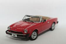 1:18 Fiat 124 Spider (1978–1982) | rot | Autoart | Modellauto PKW modelcar