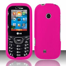 For LG Cosmos 3 VN251S / LG Cosmos 2 VN251 Rubberized Matte Hard Case Cover NEW