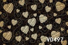 CP Vinyl Photo Background Valentine's Day Love Heart Type 7X5FT Studio Backdrop