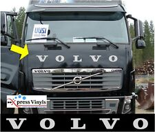 Volvo truck decal. bonnet graphic sticker ANY COLOUR!!! FH FH500 FH750