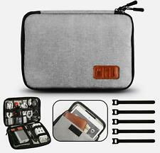 GiBot Cable Organiser Bag, Travel Electronics Accessories Bag Organiser