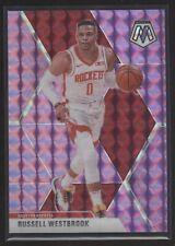 2019-20 Panini Mosaic Basketball #134 Russell Westbrook Pink Mosaic /49