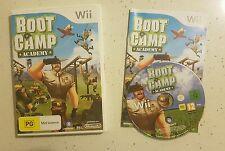 BOOT CAMP ACADEMY Nintendo Wii - Like New